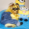 Photo #1 - Somi the Minion hanging out with her Minion friends!