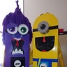 Photo #2 - Part two..double sided purple minion