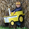 Photo #1 - Parker driving his Minneapolis Moline G900 Tractor