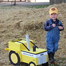 Photo #5 - Showing off his tractor