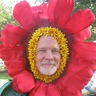 Photo #8 - Close up Human flower costume head piece
