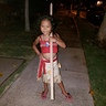 Photo #4 - Posing with her spear