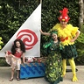 Photo #2 - Moana, Te Fiti and Heihei