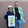 Photo #7 - Electric Company & Banker---Mom keeps everything running and Dad is the bank of the family!