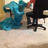 Photo #7 - The mess Dad made making his costume