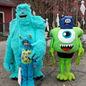 Photo #2 - Monsters, Inc. Sulley, Boo and Mike