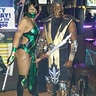 Photo #1 - Jade & Scorpion costumes from Mortal Kombat
