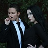 Photo #2 - Morticia and Gomez Addams