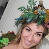 Photo #2 - Makeup and wild flower bird and nest crown