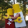Photo #3 - Brother and Sister love lego hug!