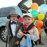 "Photo #1 - Mr. Fredrickson and Russell from the movie, ""Up"""