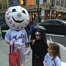 Photo #5 - Mr. Met taking pictures with friends.