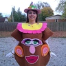 Photo #2 -  Gwendolyn as Mrs. Potato Head