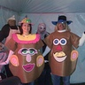 Photo #1 - Charlie & Gwendolyn as Mr. & Mrs. Potato Head