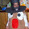 "Photo #1 - Eric in his ""Mr. Potato Head"" costume"