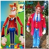 Photo #3 - Side by Side comparison - Mr. Toffee & me in costume with real candies!