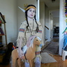 Photo #4 - Native American Maiden with her Horse