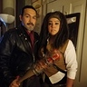 Photo #1 - Negan & Michonne