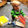 Photo #2 - Don't all babies read the dictionary?
