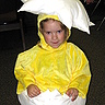 DIY Newly Hatched Chick Costume