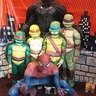 Photo #3 - The Turtles meet Batman and Spiderman