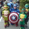 Photo #4 - The Turtles meet Captain America