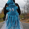 Photo #1 - Octopus with skirt representing the ocean