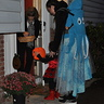 Photo #4 - Action shot of trick or treating with my 3 year old, Ladybug Girl!