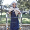 Photo #3 - paxton as a little old lady