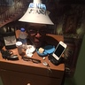 Photo #3 - Top of night stand showing lamp shade