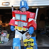 Photo #1 - Optimus and Bumblebee (sans mask!)