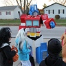 Photo #2 - Optimus amongst the neighborhood kids