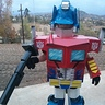Photo #1 - Autobots Roll out for Trick-or-treating!