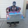 Photo #1 - Optimus Prime in human-like form