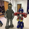 Photo #3 - Brotherly Love Bender and Optimus