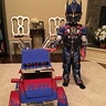 Photo #1 - Xander and Optimus in truck mode