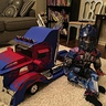 Photo #2 - Sitting beside Optimus