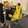 Photo #3 - Boy playing on my pacman arcade costume