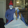 Photo #1 - Papa Smurf and Smurfette