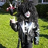 Photo #2 - 7 yr. old Brett IS: Paul Stanley