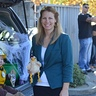 Photo #5 - Myself as Mayor Goodway with her cherised pet chicken Chickaletta