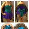 Photo #3 - Top two photos are the finished costume, bottom two are the inspiration.
