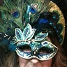 Photo #2 - Peacock Showgirl  - Mask and Headdress