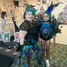 Photo #3 - Momma and baby peacock, hoemade costumes!