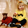 Photo #4 - Charlie Brown (girl version-up close) and 'his' best friend Linus