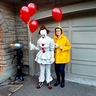 Photo #1 - Pennywise (Me) and Georgie (My sister)