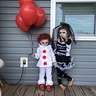 Photo #1 - Pennywise clown and his Bride