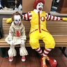 Photo #1 - Pennywise meets Ronald
