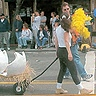"Photo #1 - Egg and Chick on ""The Butter & Eggs Day Parade"""