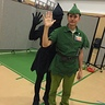 Photo #2 - Peter Pan and his shadow in the gym